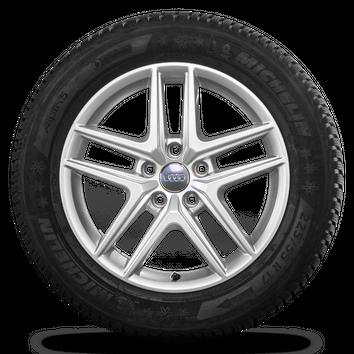 Audi 17 Zoll A4 Allroad 8W B9 Alufelgen Felgen Winterreifen Winterräder 8 mm – Bild 5