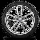 Audi 20 Zoll A6 S6 4G Alufelgen Felgen S line Winterreifen Winterräder 8 mm