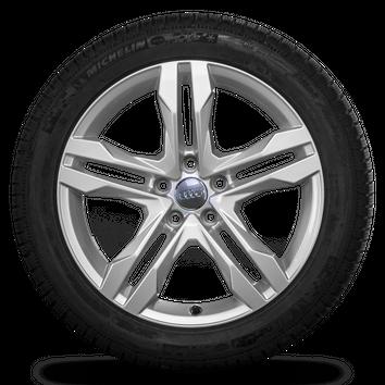 Audi 18 Zoll Felgen A4 B9 8W Allroad Dynamik Winterreifen Winterräder 7,5 mm – Bild 2