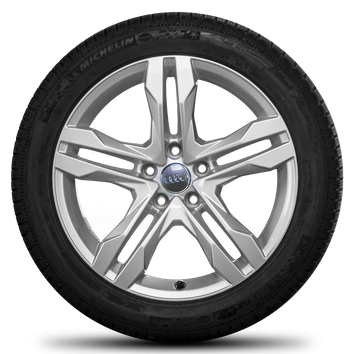 Audi 18 Zoll Felgen A4 B9 8W Allroad Dynamik Michelin Winterreifen Winterräder – Bild 2