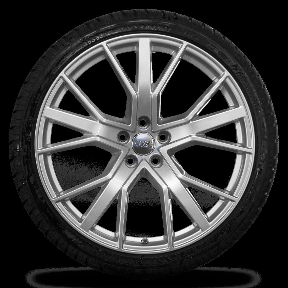 Audi 21 Zoll Felgen RS6 4G Performance Alufelgen Winterreifen Winterräder 7 mm