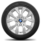 BMW 17 inch Winterrräder alloy wheels X1 E84 Styling 318 rim winter tyres