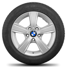 BMW 16 inch rim 1 series F20 F21 2 series F22 F23 Styling 376 winter tyres