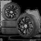 VW 18 Zoll Felgen Passat 3C EOS Alufelgen Omanyt Winterreifen Winterräder