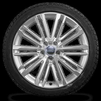 Audi 19 Zoll Felgen A4 S4 8W Alufelgen Winterreifen S line Winterräder 7 mm – Bild 4