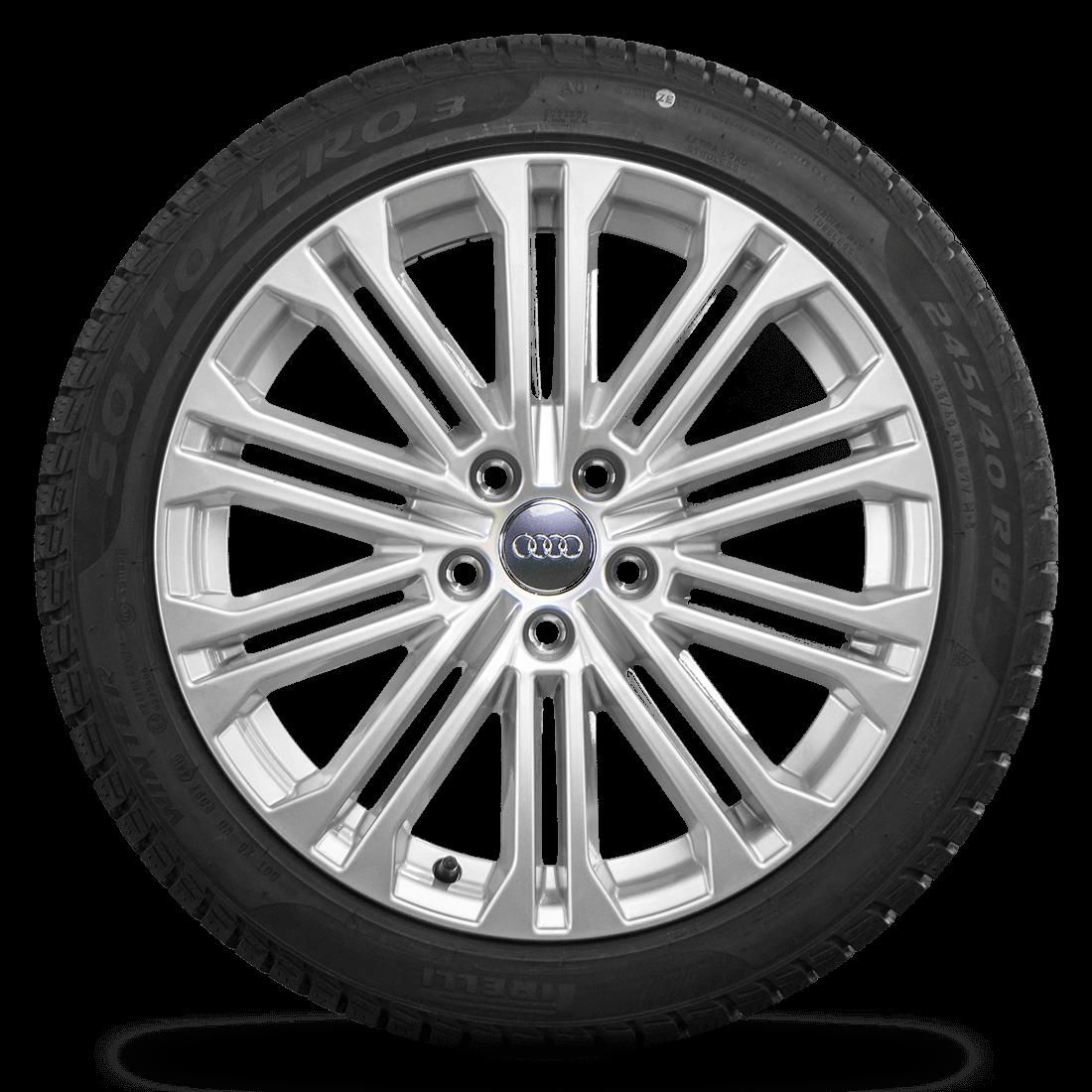 Audi 18 Zoll Felgen A5 S5 8W Alufelgen Winterreifen Pirelli Winterräder S line