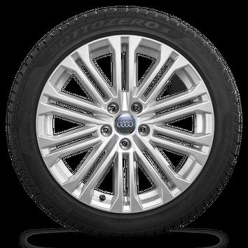 Audi 18 Zoll Felgen A5 S5 8W Alufelgen Winterreifen Pirelli Winterräder S line – Bild 5