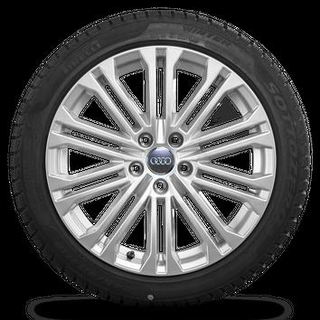 Audi 18 Zoll Felgen A5 S5 8W Alufelgen Winterreifen Pirelli Winterräder S line – Bild 4