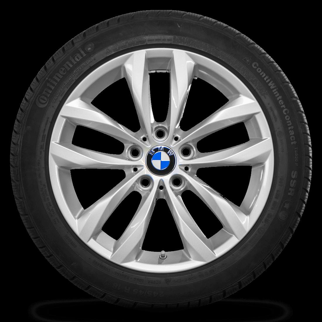 BMW 18 Zoll 5er F10 F11 6er F12 F13 Felgen 609 6862892 Winterreifen Winterräder