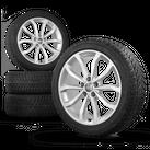 Audi A4 S4 8W 18 Zoll Winterkompletträder Felgen Winterreifen Winterräder 8 mm