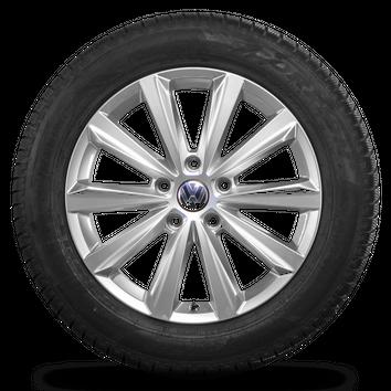 VW Touareg 7P 19 Zoll 7P6601025P Felgen Salamanca Winterräder Winterreifen – Bild 4