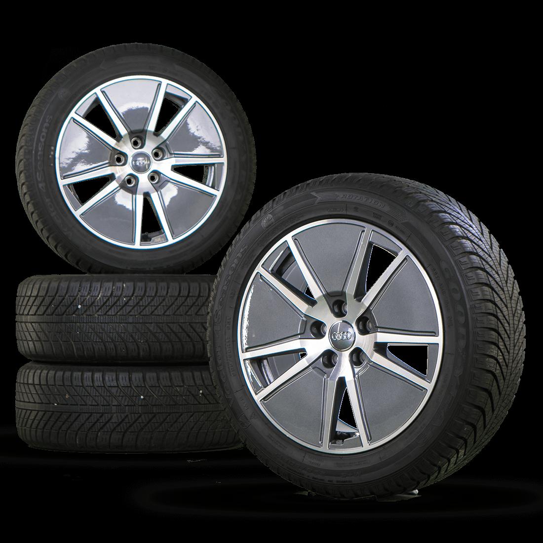 Audi 17 Inch Rim A4 8W Alloy Wheels Aero Allwetterreifen