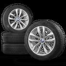 BMW 18 inch rims 5er F10 F11 6er F12 F13 609 Winter tires Winter wheels 7,5 mm