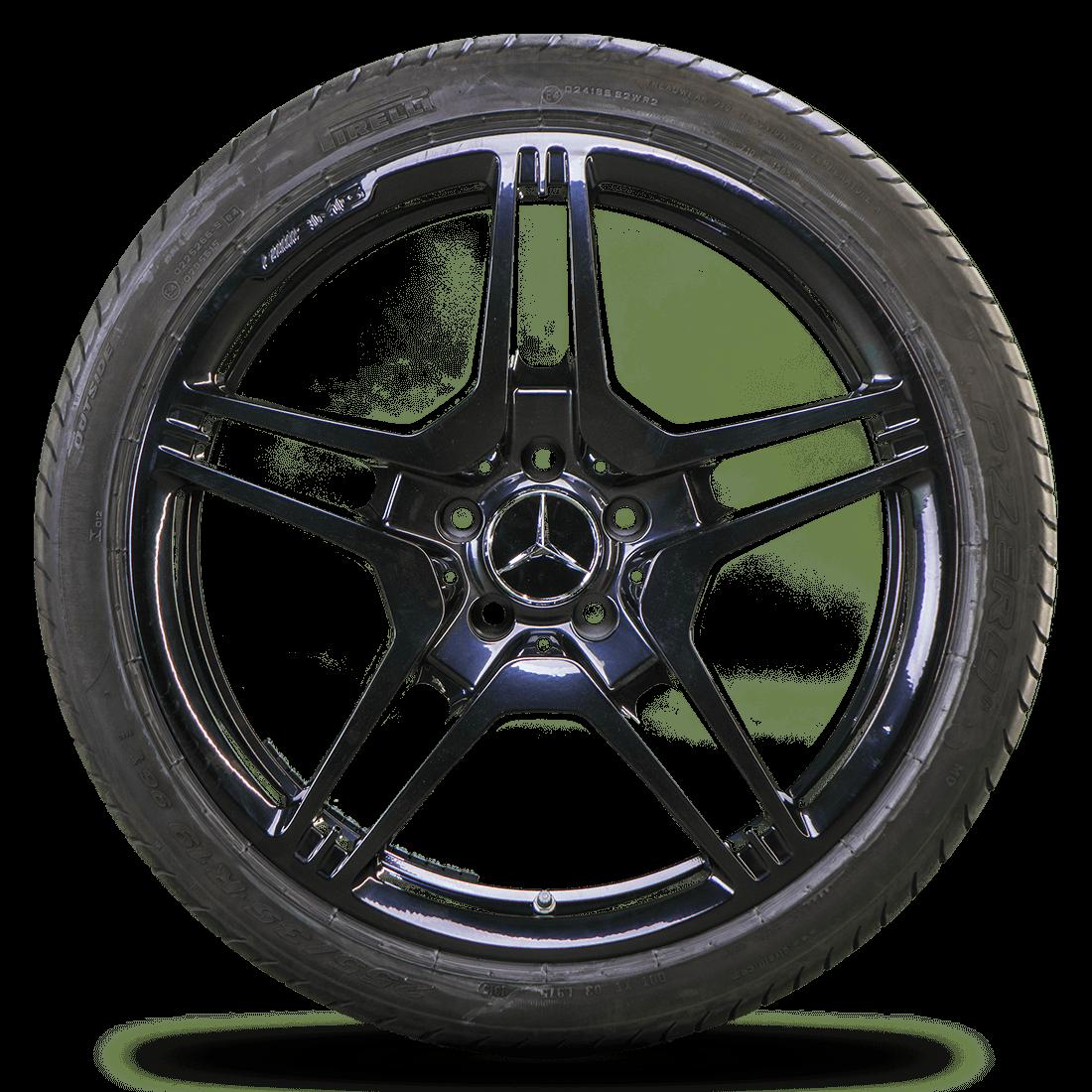 AMG 19 Zoll Alufelgen Mercedes CLS 63 W218 E-Klasse E 63 W212 Felgen Sommerräder