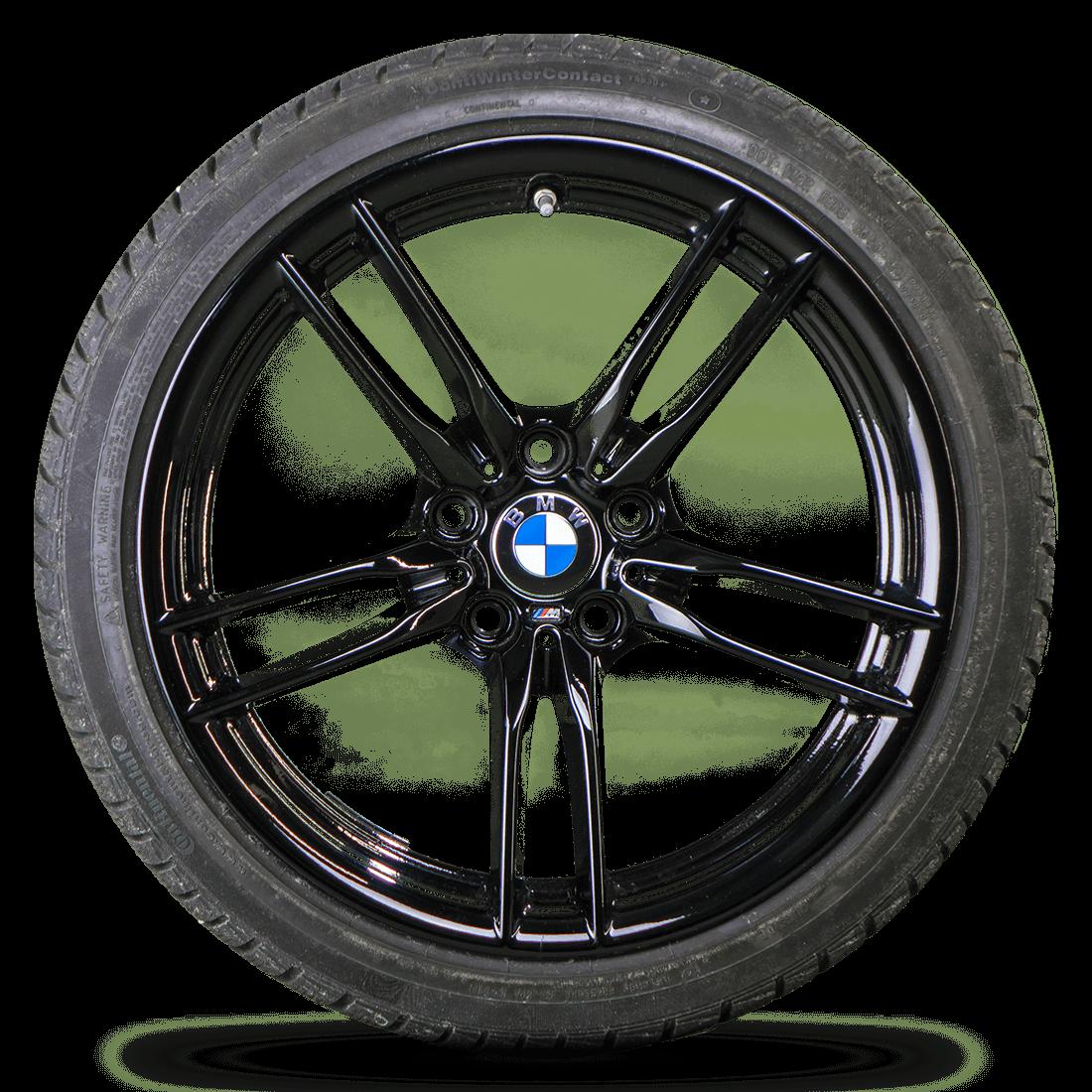 BMW19 Zoll M3 F80 M4 F82 F83 Alufelgen Winterreifen Winterräder Styling M641