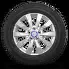 Mercedes 16 inch rim V-class Vito W447 winter tyres winter wheels new