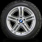 BMW 18 Zoll Winterräder 5er F10 F11 6er F12 F13 Styling M613 M 613 Winterreifen