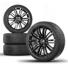 Audi 19 inch rim A4 S4 8W alloy wheels winter tyres schwarz winter wheels 8 mm