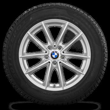 BMW 17 Zoll 5er G30 G31 Winterräder Felgen Runflat Winterreifen Styling 618 NEU – Bild 3