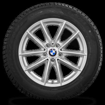 BMW 17 Zoll 5er G30 G31 Winterräder Felgen Runflat Winterreifen Styling 618 NEU – Bild 5
