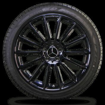 AMG 19 Zoll Felgen Mercedes A-Klasse W177 Alufelgen Sommerreifen Sommerräder – Bild 3