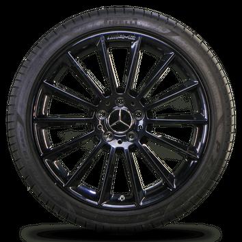 AMG 19 Zoll Felgen Mercedes A-Klasse W177 Alufelgen Sommerreifen Sommerräder – Bild 5