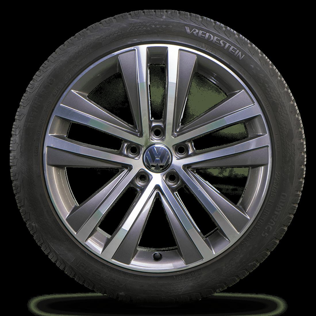 VW Sharan 7N Seat Alhambra 18 Zoll Ganzjahresreifen Allwetterreifen Toulon Akira
