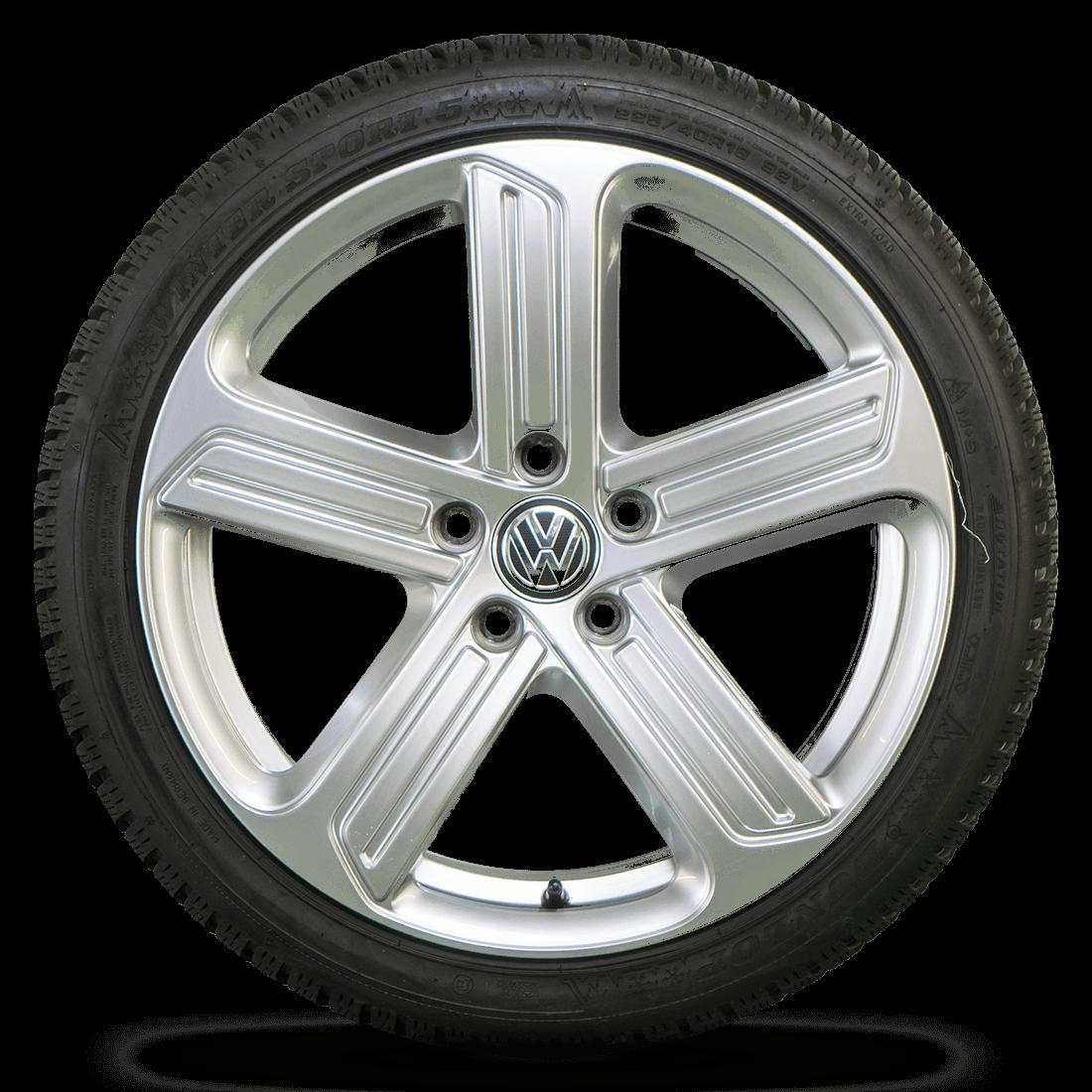 VW 18 Zoll Felgen Golf 7 6 GTI GTD Cadiz Alufelgen Winterreifen Winterräder 8 mm