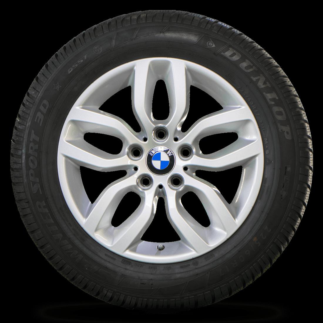 BMW 17 Zoll Felgen Winterräder X3 F25 X4 F26 Styling 305 Winterreifen Alufelgen