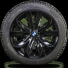 BMW X5 E70 F15 X6 F16 20 Zoll Felgen Winterreifen Winterräder 491 Alufelgen