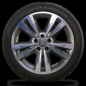 Mercedes 18 Zoll Felgen E-Klasse W212 S212 Alufelgen Winterreifen Winterräder – Bild 5