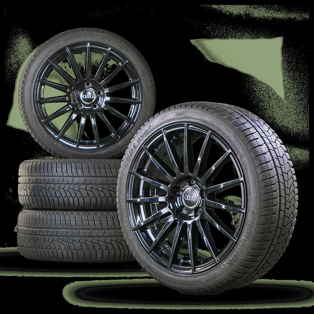 Audi 18 Inch A4 S4 8E Rims Winter Tires Winter Wheels Aluminum