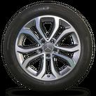 Mercedes Benz C-Klasse 17 Zoll Alufelgen W205 Felgen Sommerreifen Sommerräder