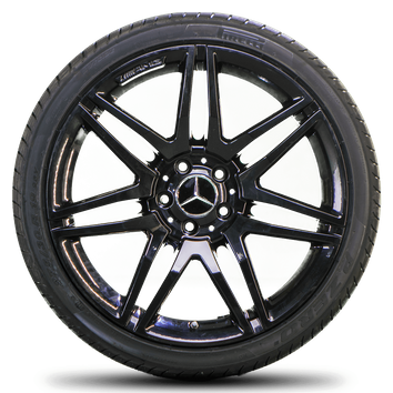AMG 19 Zoll Mercedes Benz E Klasse W212 S212 Alufelgen Felgen Sommerreifen NEU – Bild 2