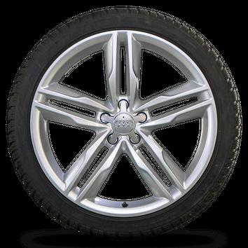 Audi 20 Zoll Felgen A7 S7 4G Alufelgen Winterreifen Winterräder 4G8601025AJ 7 mm – Bild 2