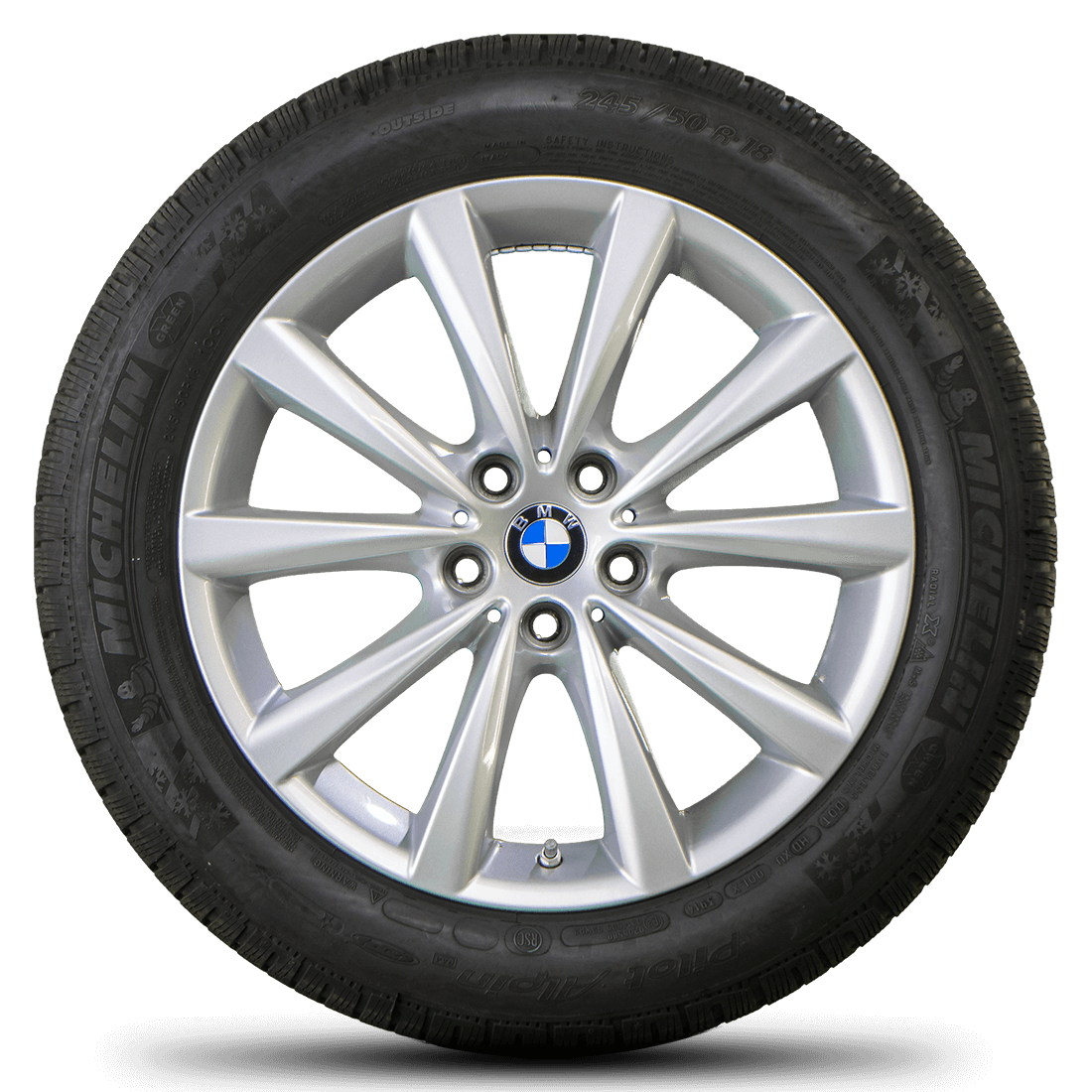 BMW 18 Zoll Felgen 7er G11 G12 6er GT G32 Winterreifen Winterräder Styling 642
