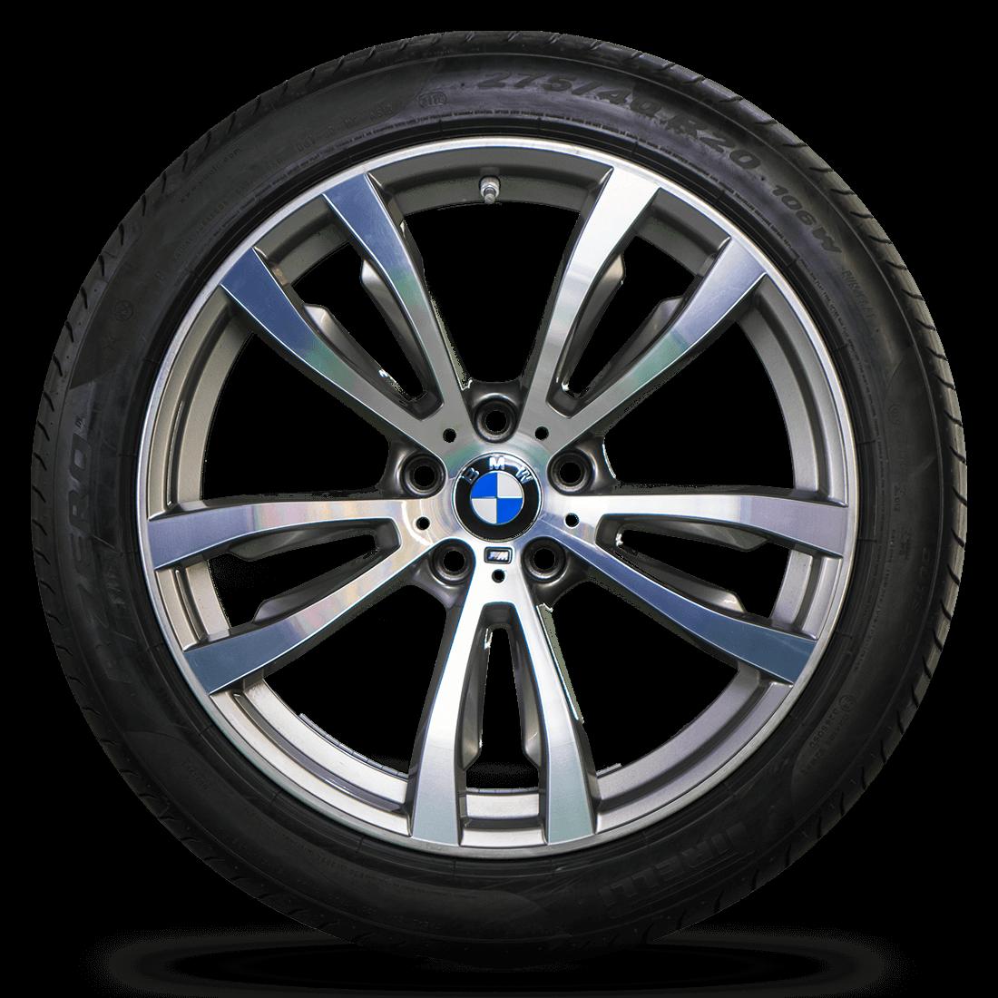 Bmw X6 Styling: BMW 20 Zoll Alufelgen X5 F15 X6 F16 Styling M469 Felgen