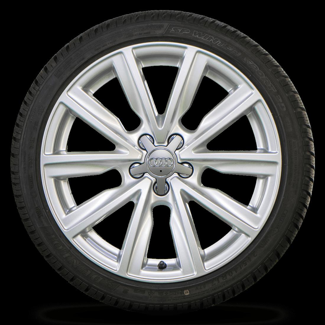 Audi 17 Zoll Felgen A1 S1 8X Alufelgen Winterreifen Winterräder 7-7,5 mm