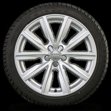 Audi 17 Zoll Felgen A1 S1 8X Alufelgen Winterreifen Winterräder 7-7,5 mm – Bild 3