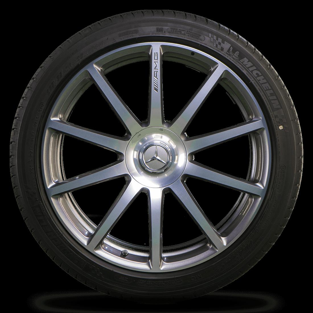 Mercedes 20 Zoll S63 S65 AMG W222 Coupé W217 C217 Alufelgen Felgen Sommerreifen