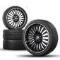 BMW 20 inch 5er F10 F11 6er F12 F13 Winter Wheels Winter Rims 410 NEW 1