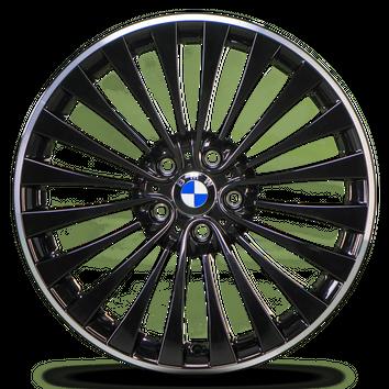 BMW 20 Zoll 5er F10 F11 6er F12 F13 Alufelgen 410 Felgen 6797477 6797478 NEU – Bild 5