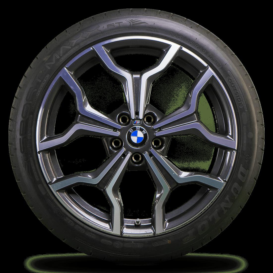 Bmw 19 Inch Rims X2 F39 Alloy Wheels Summer Tires Summer Wheels Styling M722 New