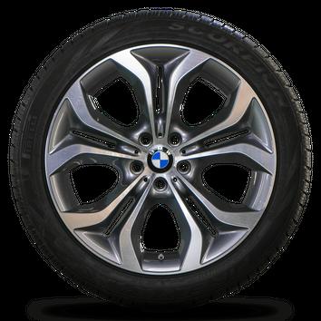 BMW 20 Zoll X5 E70 F15 X6 F16 Alufelgen Winterreifen Winterräder Styling 336 – Bild 3