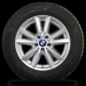 BMW 18 Zoll X5 F15 Alufelgen Felgen Styling 446 Winterreifen Winterräder 6 mm – Bild 5