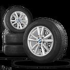 BMW 18 Zoll X5 F15 Alufelgen Felgen Styling 446 Winterreifen Winterräder 6 mm
