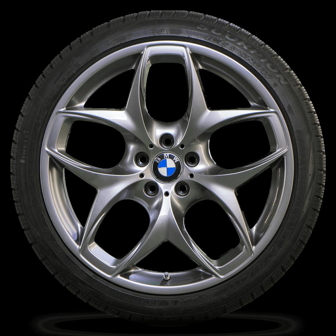 Original BMW 21 Zoll Winterreifen X5 E70 F15 X5M X6 E71 F16 X6M Winterräder 215