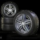 AMG 19 inch rims Mercedes E-class W213 S213 C238 aluminum rims summer tires NEW