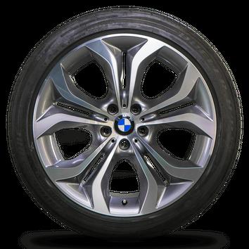 BMW 20 Zoll Alufelgen X5 F15 E70 X6 F16 Styling 336 Bicolor Sommerreifen – Bild 3