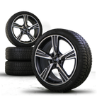 Original Audi 18 inch rims A3 S3 8V Velum Alu rims winter tires winter wheels